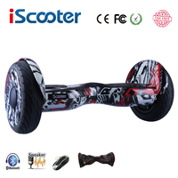 New IScooter Hoverboard 10 Inch Two Wheel Smart Self Balancing Scooter Electric Skateboard With Bluetooth Speakers