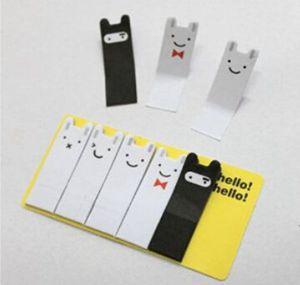 Memo Pads 100 Sheet/pcs Cartoon Rabbit Scrapbooking Sticker Bookmark Kawaii Toy Tab Flags Memo Sticky Notes Book Marker Office Stationery