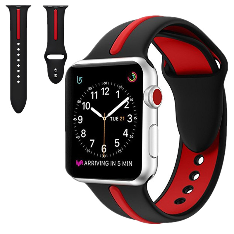 ASHEI Sport Silicone Bracelet Watchbands For Apple Watch Band 42/38mm Strap Accessories Wristband For Iwatch Strap Series 1/2/3 javrick silicone wristband bracelet band replacement for garmin vivoactive acetate watch sports watch watchbands accessories