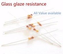 3pcs RI40 1/4W 10G ohm Glass glaze resistance Thick film resistors 10% 10000M ohm