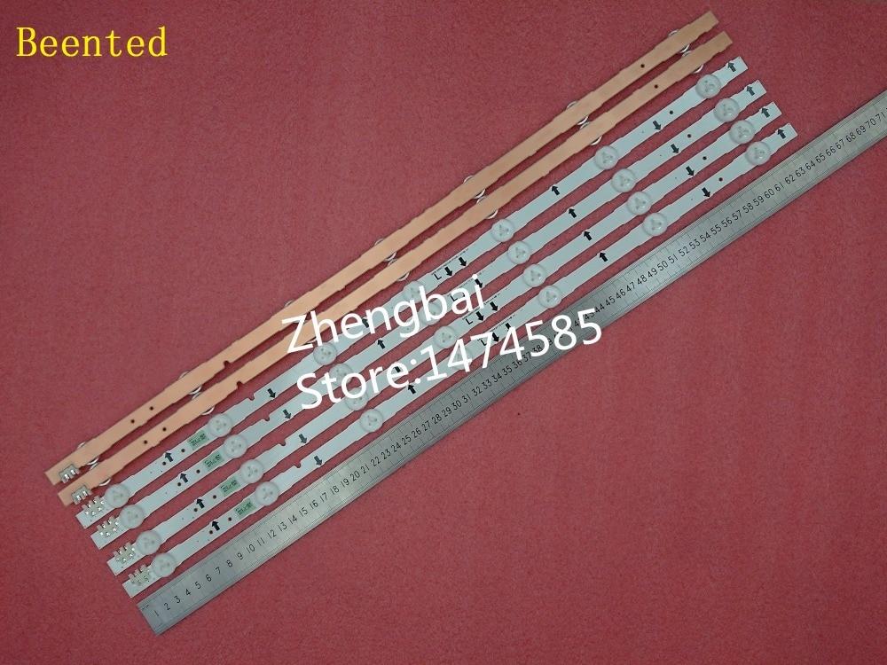 (New kit)4 Pieces/set 7LED 647mm LED strip for samsung ue32j5500ak D4GE-320DC1-R2 D4GE-320DC1-R1 BN96-30443A 30442A 2014SVS32FHD(New kit)4 Pieces/set 7LED 647mm LED strip for samsung ue32j5500ak D4GE-320DC1-R2 D4GE-320DC1-R1 BN96-30443A 30442A 2014SVS32FHD