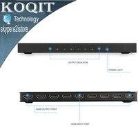 4K 2k 1x8 HDMI 8 Port HDMI Video Splitter Audio Amplifier Repeater 3D 1080p 1 In