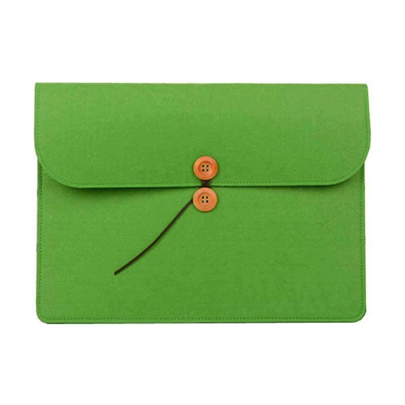 11 13 14 15,6 17,3 Шерстяной Чехол для ноутбука, войлок мягкий чехол для Macbook Air Pro 13 15 рукав для hp/acer/Asus/lenovo notebook Cover