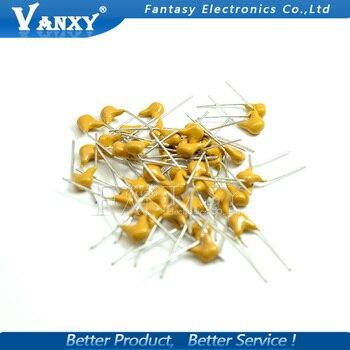 100 шт. 50 В Монолитных Керамических Конденсаторов 10pf ~ 10 мкФ многослойная керамический конденсатор P = 5.08 мм