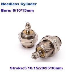 Cylindre à goupille de type à action unique, CJPB smc, alésage de type 6mm/10mm/15mm, course de 5/10/15/20/25/30mm