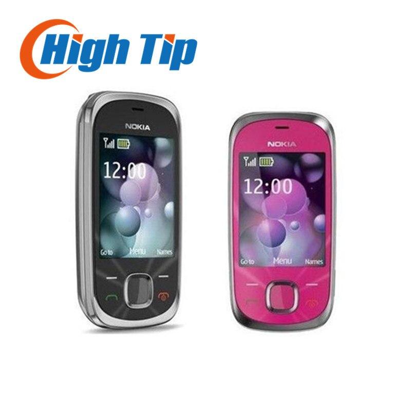 Цена за Nokia original unlocked 7230 бесплатная доставка 3.2mp камера оригинальный 7230 3 г мобильный телефон отремонтированы 1 год гарантии
