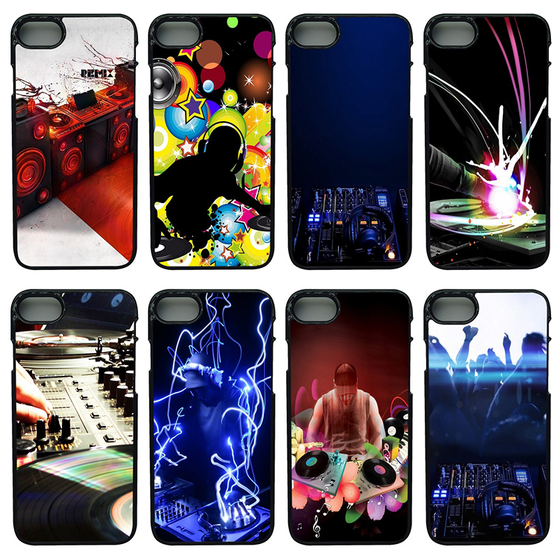 Fashion DJ Put It Louder Cell Phone Case Hard Plastic Cover Protect for iphone 8 7 6 6S PLUS X 5S 5C 5 SE iPod Touch 4 5 6 Shell
