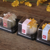 2017 Direct Selling Milieuvriendelijke Zeep Mold Hot Koop 50 stks Pvc Clear Cake Container/Cupcake Muffin Doos Plastic Bruiloft douche