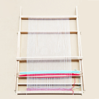 Beech Weaving Loom Knitting Machine Hand Craft Knit Wool Yarn Child Weaver Educational Toys