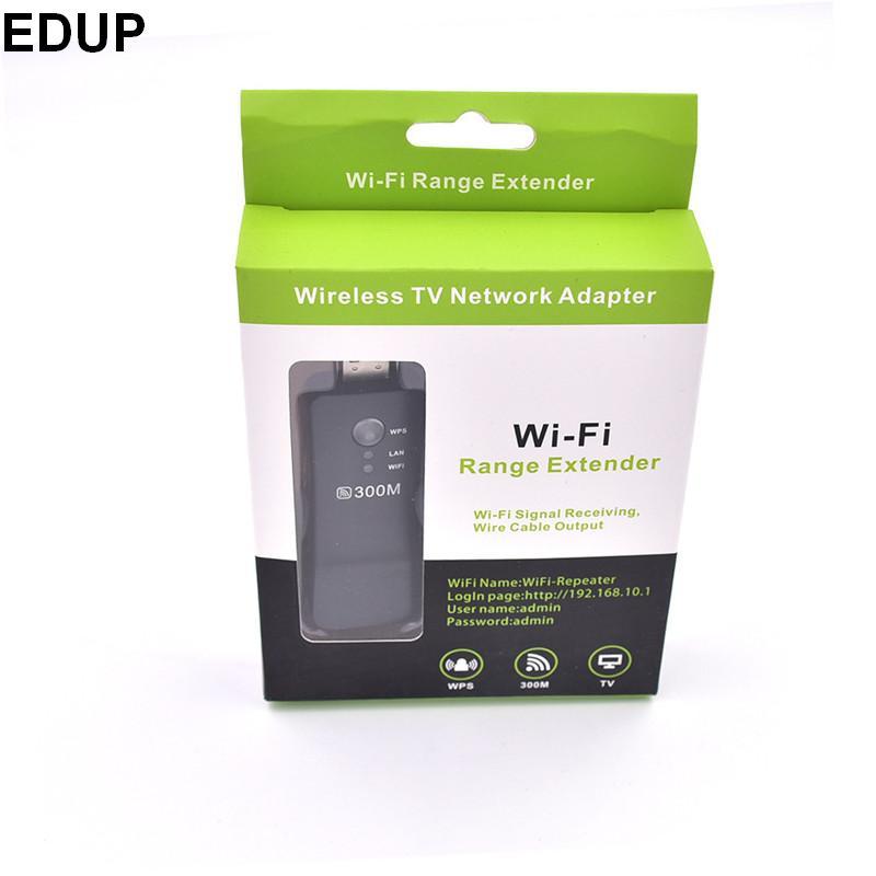 300M USB brezžični repetitor Brezžični adapter za Smart TV wifi adapter repetitor ethernet most za Samsung Sony LG kateri koli tv