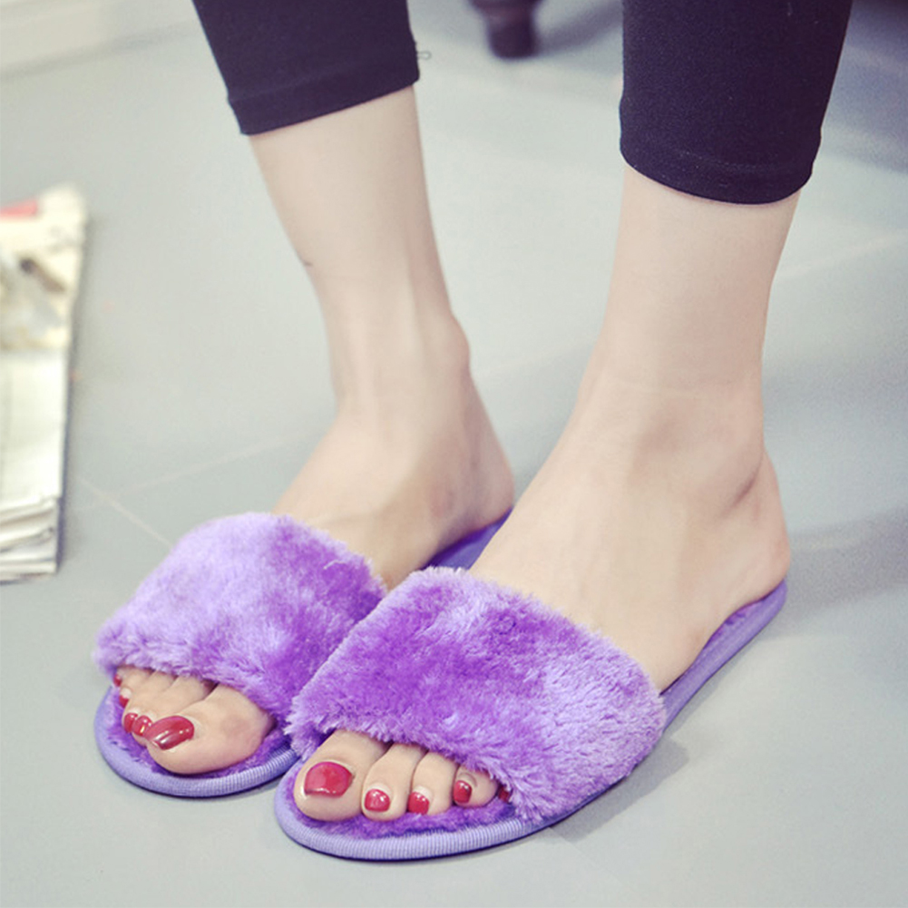 New Fashion Women Slippers Home Indoor Plush Slippers Female Shoes Comfortable Fur Ladies Slides Chaussure Femme #20New Fashion Women Slippers Home Indoor Plush Slippers Female Shoes Comfortable Fur Ladies Slides Chaussure Femme #20