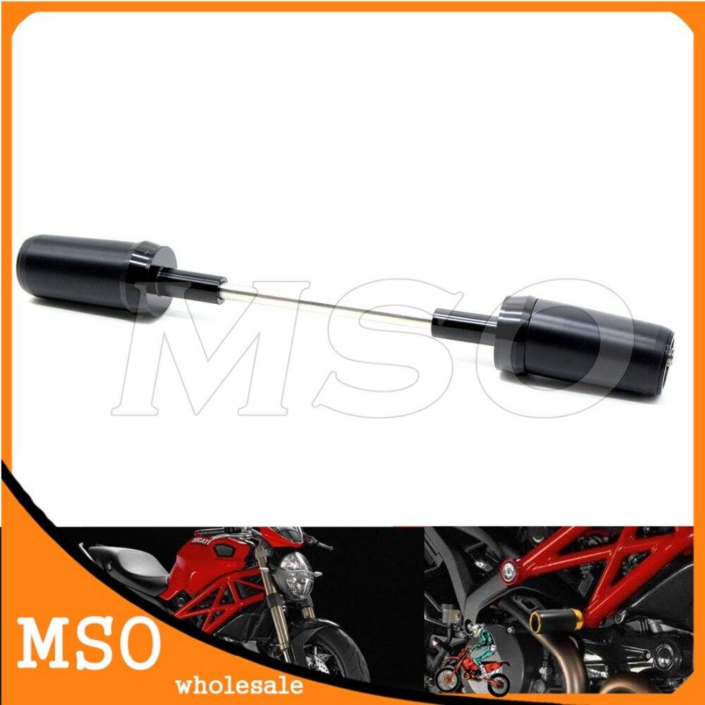 Cadre en aluminium curseur Crash protecteur moto cadre curseur Crash protecteur pour Ducati Monster696 Monster795 Monster796