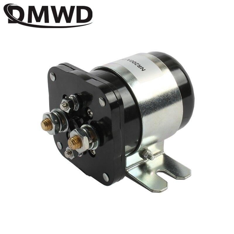 NR200 для электрического автомобиля применение высокое качество безопасный и удобный 12 В 24 36 48 60 72 200A DC контактор 1NO