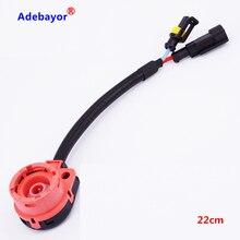 1 шт. D2S D2C C2R D4S D4C D4R ксенон для HID лампы разъем провода штекер кабель адаптер конвертер разъемы