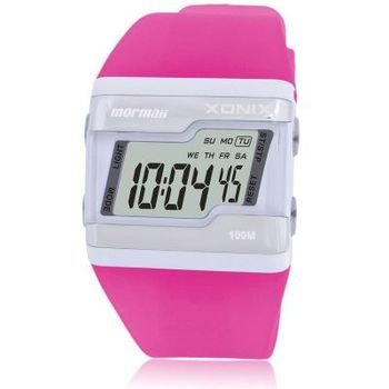 2018 New Fashion Women Sports Watches Waterproof 100m Ladies Jelly LED Digital Watch Swimming Diving Reloj Mujer Montre Femme 1