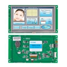 7 Polegada tft lcd com tela sensível ao toque e cpu integrada & mcu para soluções personalizadas oem