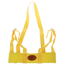 ABWE Best Sale Baby Child Toddler Safety Easy Wash Harness & Step Walking Assistant Reins — Yellow