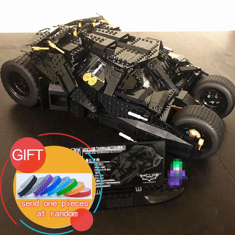 07060 1969Pcs Super Movie Hero Batman The Tumbler set Building Blocks Gift Toys for Children Compatible with 34005 76023 lepin lepin 07056 775pcs super heroes movie blocks the scuttler toys for children building blocks compatible legoe batman 70908