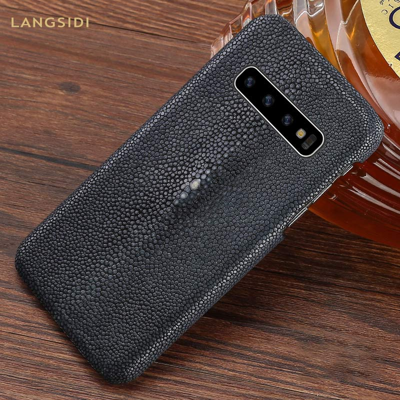 100% Natural Stingray Leather Case for samsung Galaxy s10 S7 S8 S9 Plus luxury cases For a50 a70 a40 A30 a8 a7 2018 pearl fish100% Natural Stingray Leather Case for samsung Galaxy s10 S7 S8 S9 Plus luxury cases For a50 a70 a40 A30 a8 a7 2018 pearl fish