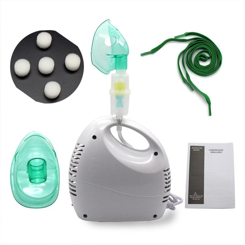 Accueil médical réglable compresseur nébuliseur inhalateur Machine enfant adulte anti-allergie respiratoire aérosol thérapie médicamenteuse
