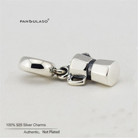Pandulaso Coffee Lovers Beads Woman DIY Beads For Jewelry Making Original 925 Sterling Silver Fit European