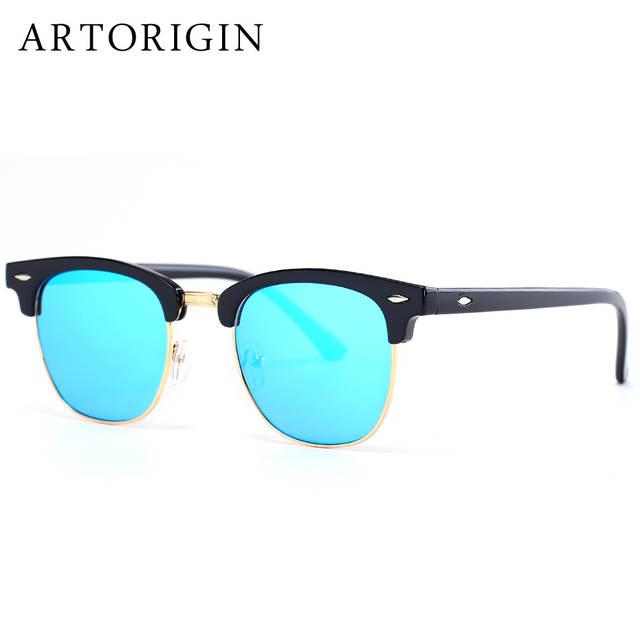 f6e6049906 Online Shop ARTORIGIN Flat Mirror Women Sunglasses Brand Designer Mens  Casual Sunglasses Club Ladies Eyewear 3016 AT016