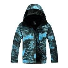 2019 Men 3-IN-1 Windbreaker Jacket Warm Hiking Waterproof Windproof Detachable Fleece 2 Pieces Outwear Breathable Coat