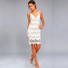 MUXU lace white dress woman clothes vestido suspender backless sexy bodycon mesh womens clothing crochet ladies dresses jurken
