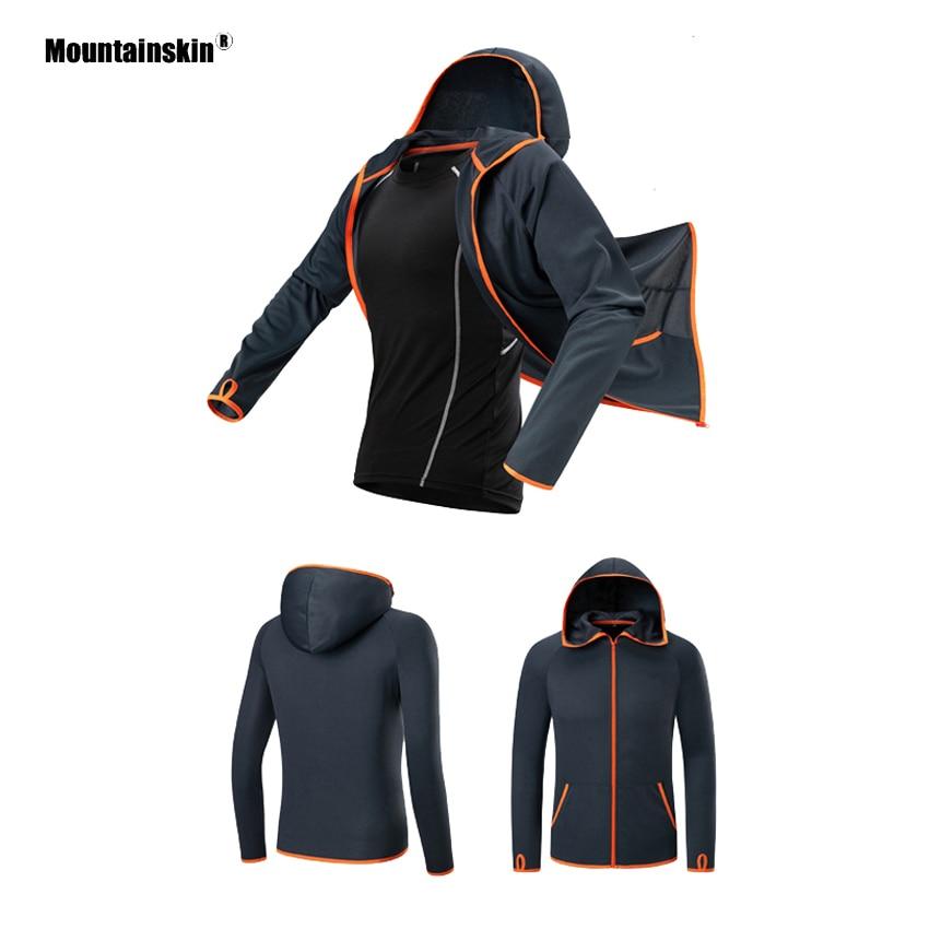 Mountainskin Shirts Fishing-Jacket Uv-Protection Hiking Outdoor Waterproof Breathable