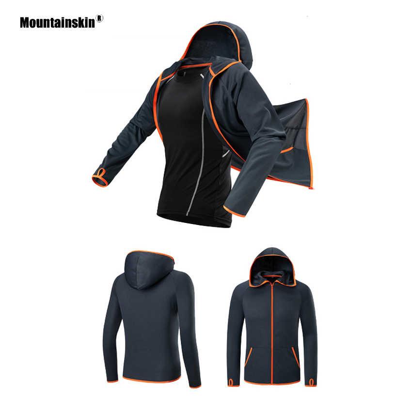 Mountainskin 男性の夏釣りジャケット屋外防水速乾性コート通気性キャンプハイキング UV 保護シャツ VA385