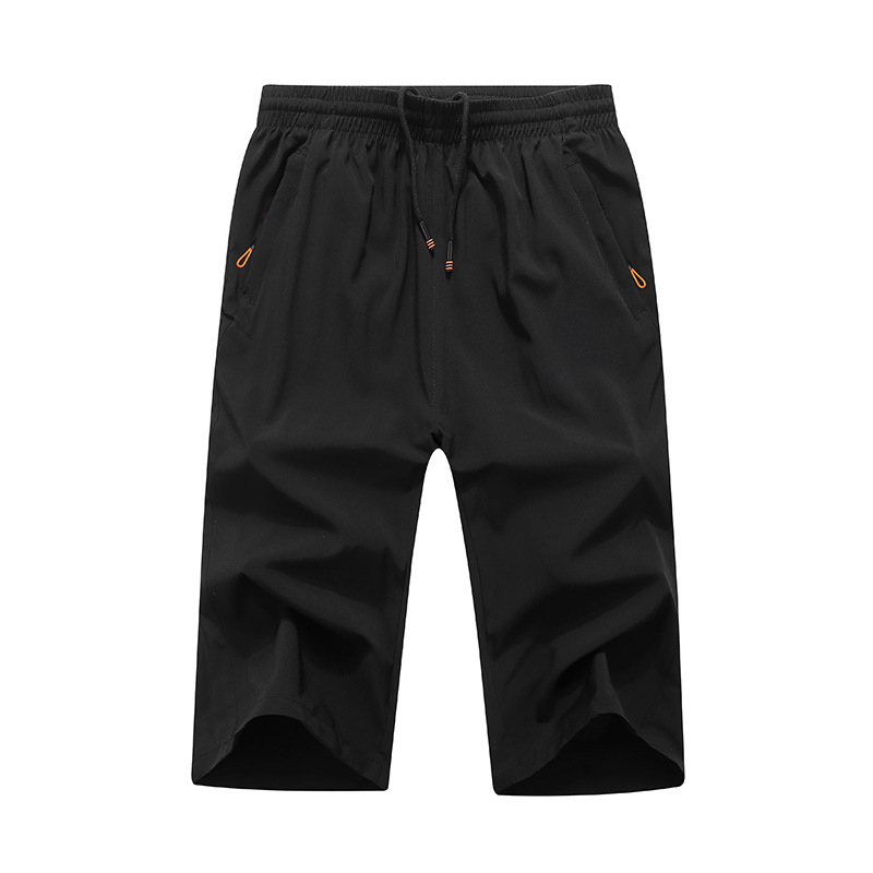 Movement Seven Breeches Loose Thin Summer  black shorts mens elastic fabric very large size L 6XL 7XL 8XL 9XL-in Casual Shorts from Men's Clothing on AliExpress - 11.11_Double 11_Singles' Day 1