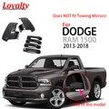 Loyalität Schwarz Auto Teil für 2013 2014 2015 2016 2017 2018 DODGE RAM 1500 Seite Spiegel + 4 Tür griff Abdeckung Auto Styling-in Chrom-Styling aus Kraftfahrzeuge und Motorräder bei