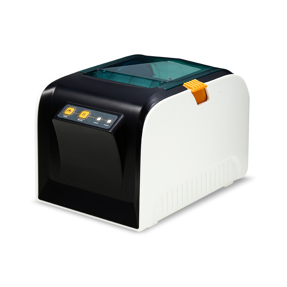 Goojprt jp 3100tu thermal label printer 80mm sticker printing machine 203dpi with usb port for selling shipping receipt print in printers from computer