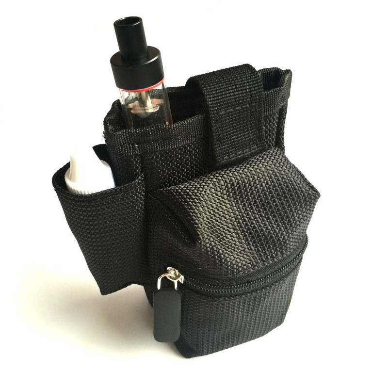 Electronic Cigarette Vape E cig Portable Carry Bag Vapor Pocket Vaping Tool kit Case Dou ...