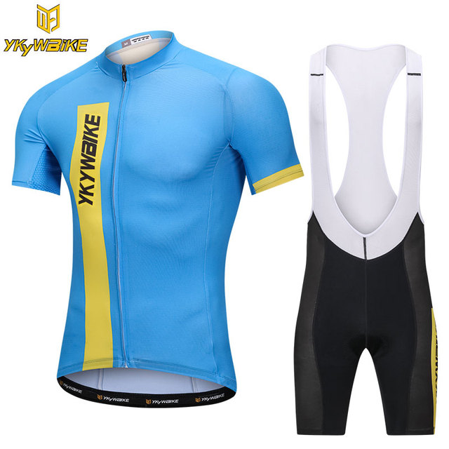 mens cycling bib set 2018 summer pro cycling jersey sets short sleeve  mountain bike clothing MTB road riding clothes YKYWBIKE 5fc13fdf1