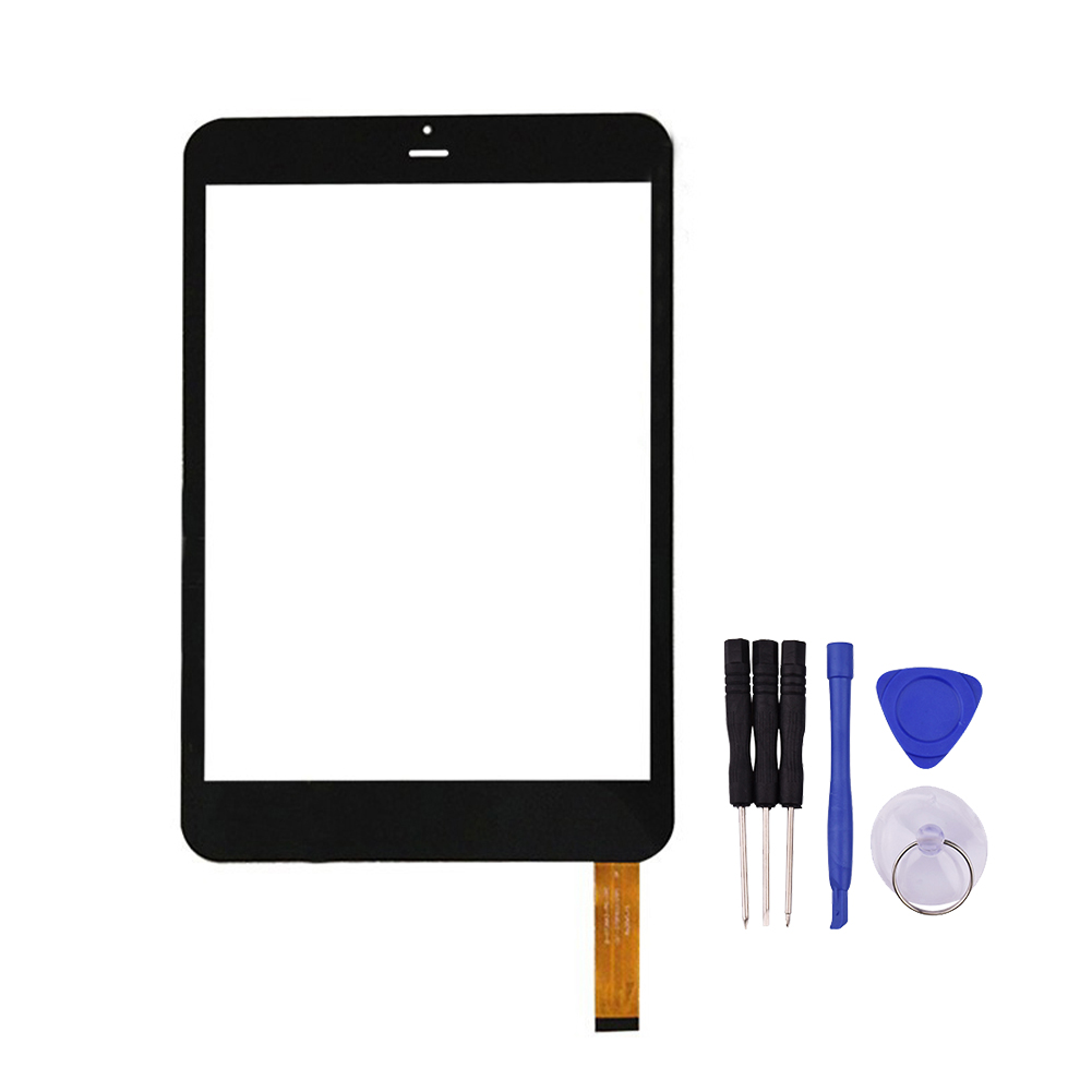Black White 7 8 inch Touch Screen for D 0736A3 PG FPC DT 070P60372TP Digitizer Glass