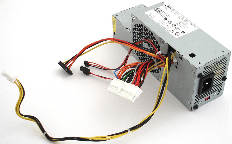 Genuine RM117 H275P 01 PC Power Supply 275W for Dell OptiPlex 755 745 740 SFF genuine rm117 h275p 01 pc power supply 275w for dell optiplex 755  at eliteediting.co