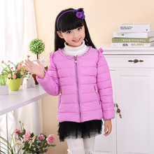 Minion Jacket Kids Down Jacket For girl Baby Minion Clothes Winter Down Coat Warm Baby Snowsuit Children Girl Hooded Short Coat