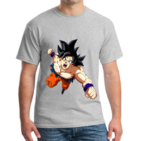 Dragon Ball T Shirt Men Summer Dragon Ball Z super son goku Slim Fit Cosplay 3D T Shirts 2018 Tshirt MJ