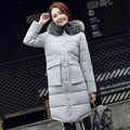 Womens Down Coats and Jackets Brand Parka Female Thick Down Jacket Coat Real Fox Fur Collar Hooded Women's Slim Winter Outwear