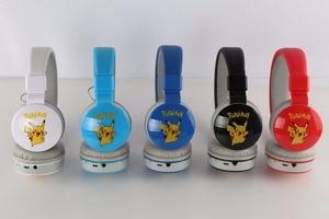 Image 5 - Mplsbo ms882 fones de ouvido sem fio, fones de ouvido esportivos com desenho animado para crianças, bluetooth, com microfone para todos os celulares