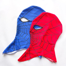 2pcs/lot New Fashion Cool Spider-Man Child Mask Halloween Cartoon Full Head Masks for Kids