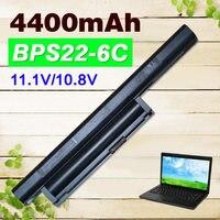 11 1V Laptop Battery For Sony VGP BPS22 VGP BPS22A BPS22 BPS22A For VAIO VPC E1Z1E