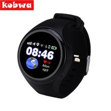 GPS sensible watch child watch T88 Bluetooth Children Smartwatch Telephone Good Spherical Display screen MTK2503 Good Wristwatch SOS WiFi SIM watch