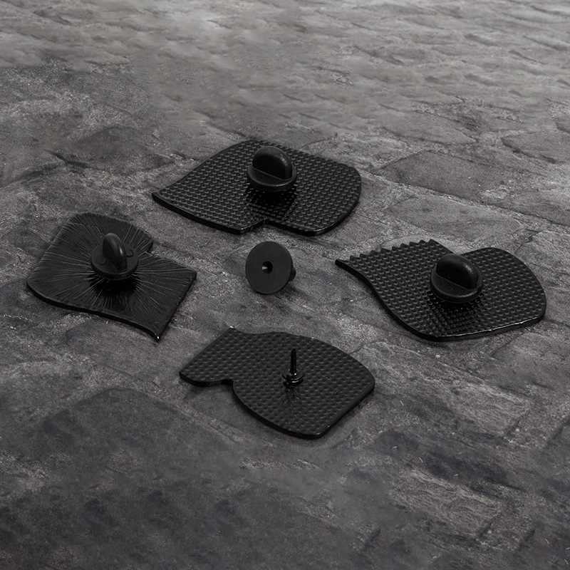 Roll Kertas Kreatif Bros Menyenangkan Ikon Enamel Pin Stitch Lencana Pria dan Wanita Perhiasan Tas Ransel Koboi Bros