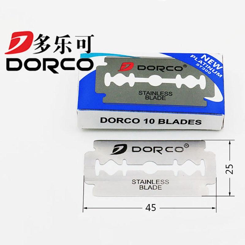 100 Pcs Razor Blades Stainless Steel Hairdressing Shaving Razor Blades Knife Blades Salon Barbers Hair Blades Hair Thinning