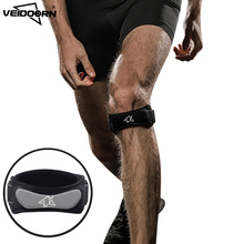 цена на Veidoorn 1 PCS Adjustable Patella Support Professional Knee Support Adjustable Knee Brace Knee Protector Guard