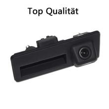 Rearview back reverse camera for Audi Porsche New Cayenne 958 Passat Touareg Tiguan trunk handle waterproof NTSC PAL( Optional)