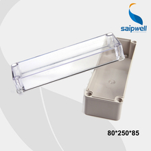 80*250*85 mm Size Newest And Hotest PC Clear Cover Waterproof Switch Box /Waterproof Enclosures With CE Approval (DS-AT-0825-1)