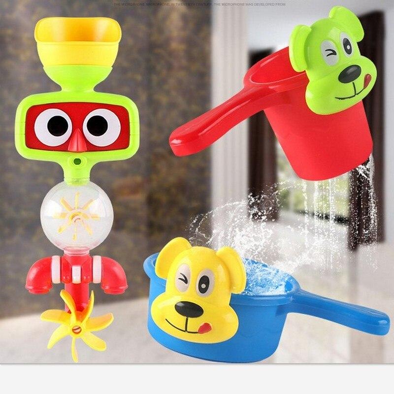 bella giocattolo del bagno del bambino di acqua portatile sistema di irrigazione con sucker vasca da